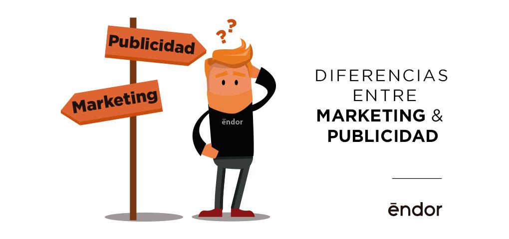 Diferencias marketing publicidad