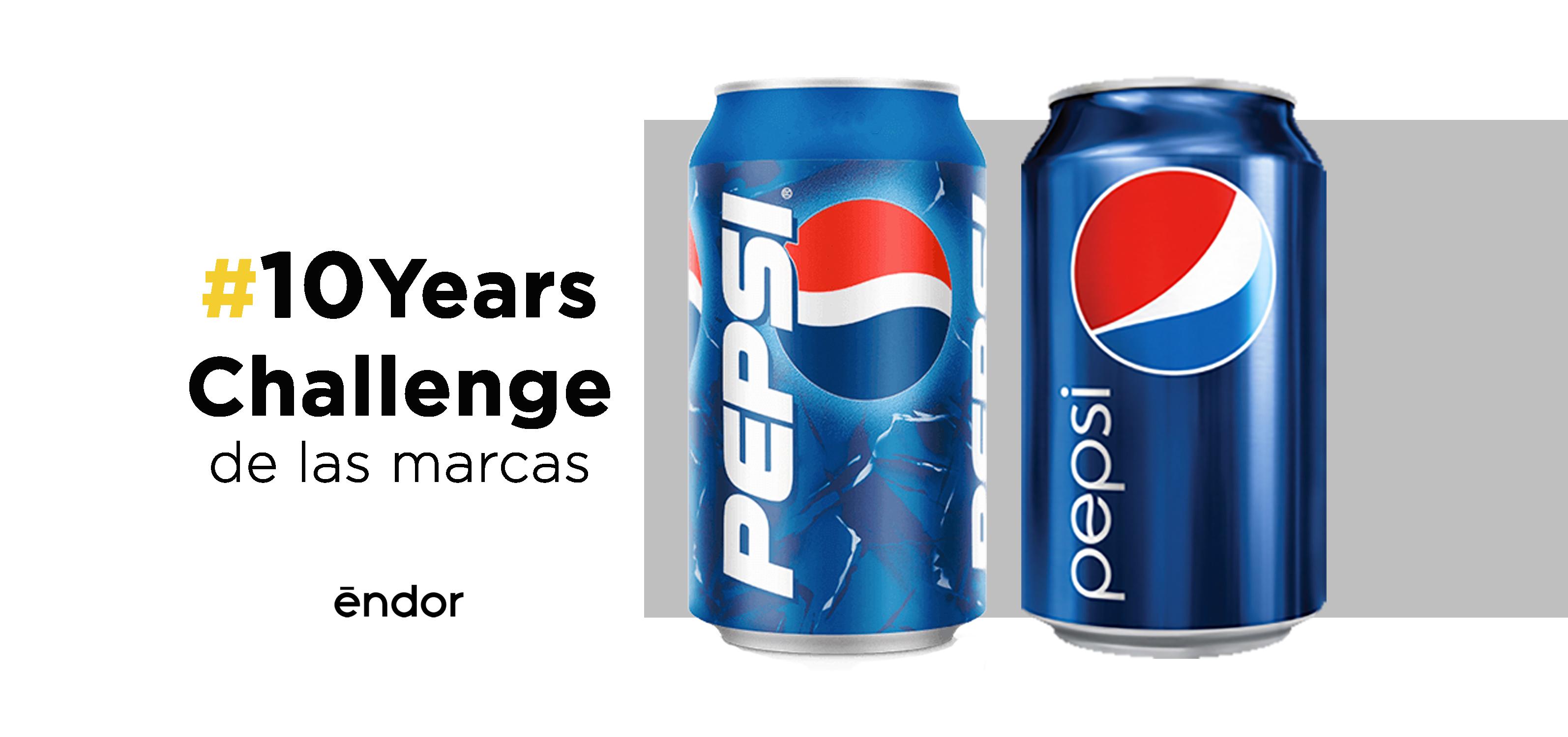 #10 YearsChallenge de las marcas