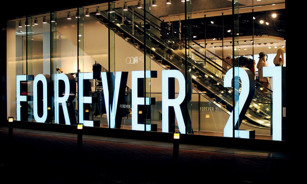 Forever 21 en bancarrota