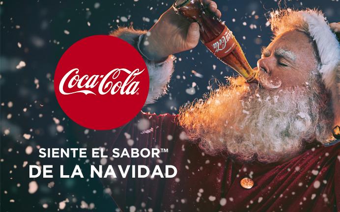 Santa Claus es un personaje icónico de la navidad gracias a la mercadotecnia de Coca-Cola